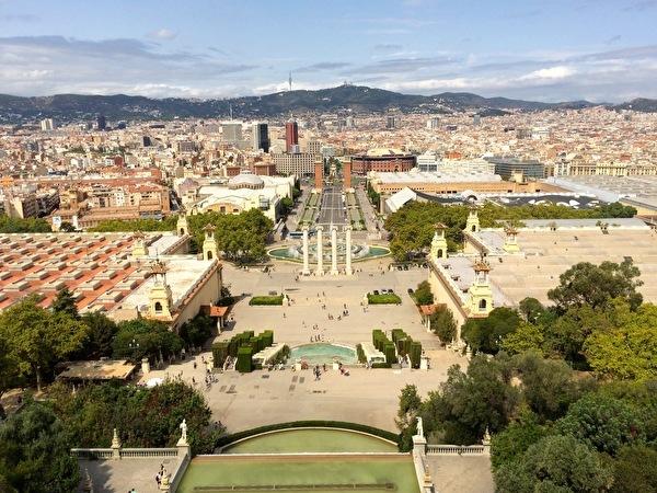 Torre Nova Resort - Barcelona - vistazo de Palacio Real