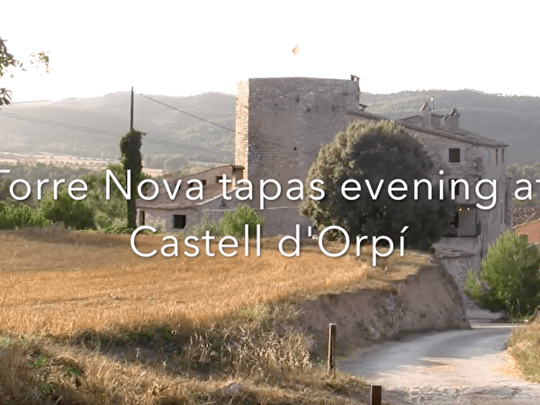 Tapas evening at Orpí
