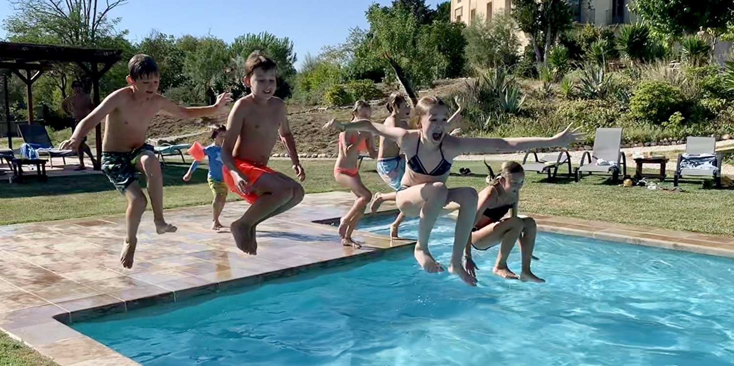 Family holiday in Spain