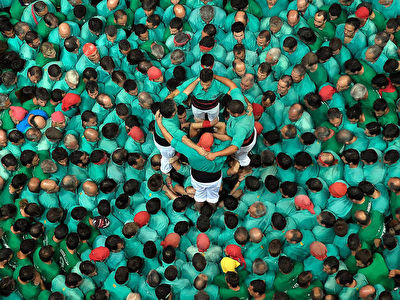 Visit the training sessions and tournaments of the Castellers de Vilafranca - April to November 2020